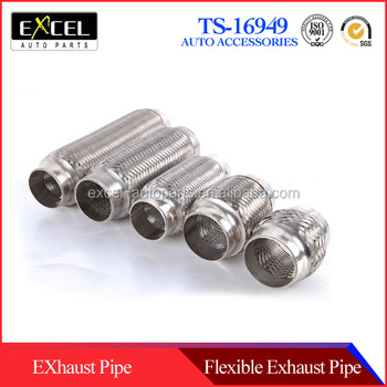 Stainless steel automobile exhaust pipe