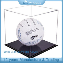 Simple Design Lucite Ball Box/ Clear Basketball Collection Case/Acrylic Display Box