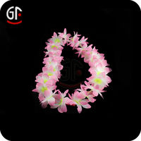 Flower Necklace Led Lighted Ribbon Garland