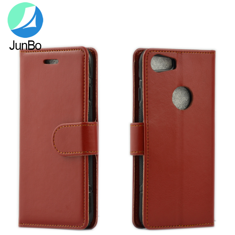 New premium flip PU leather back cover high quality mobile phone case for iphone 7