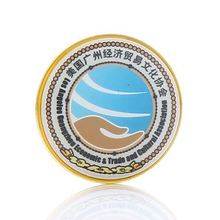 Custom new style 3D gold souvenir medallion metal challenge coin