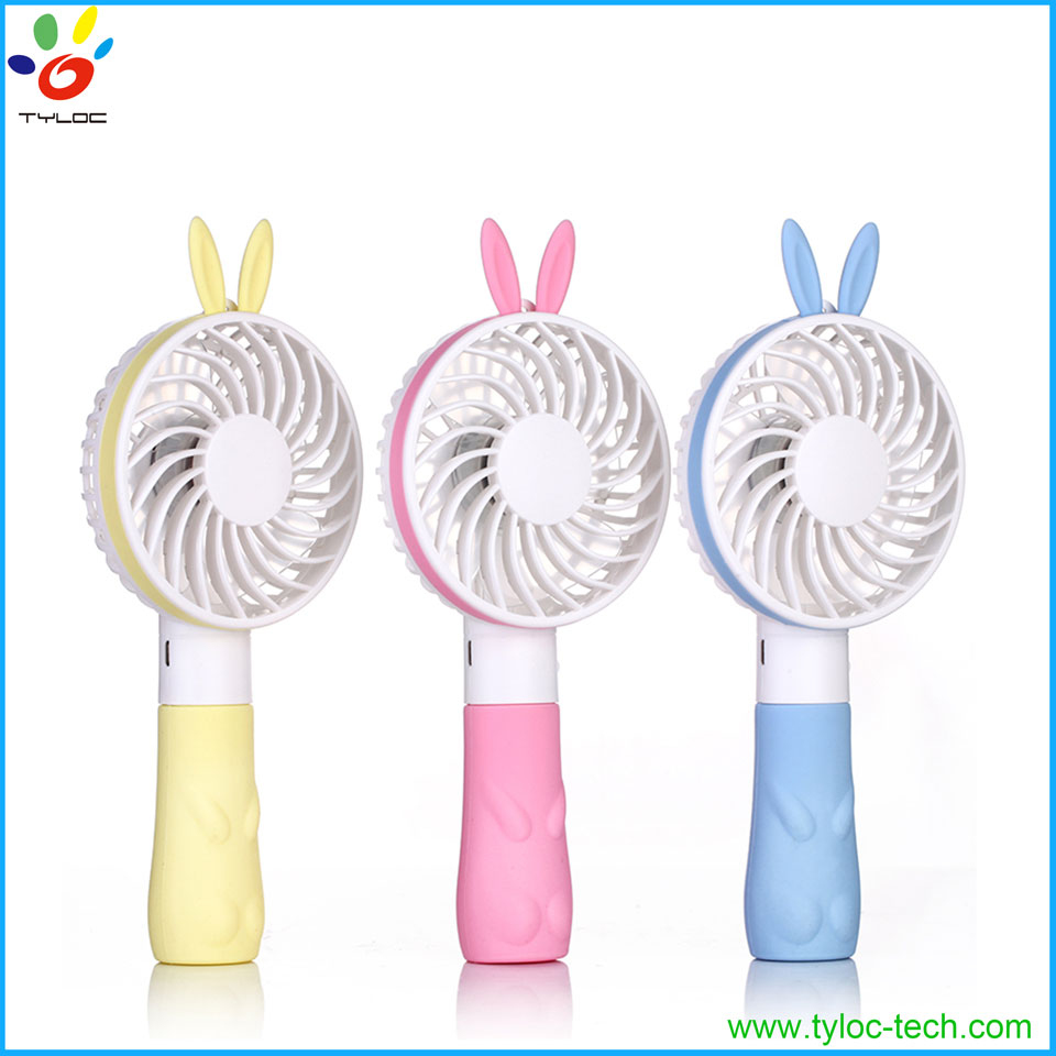 Mini Pocket Air Cooling Battery Operated Electric Personal Fan with Lanyard