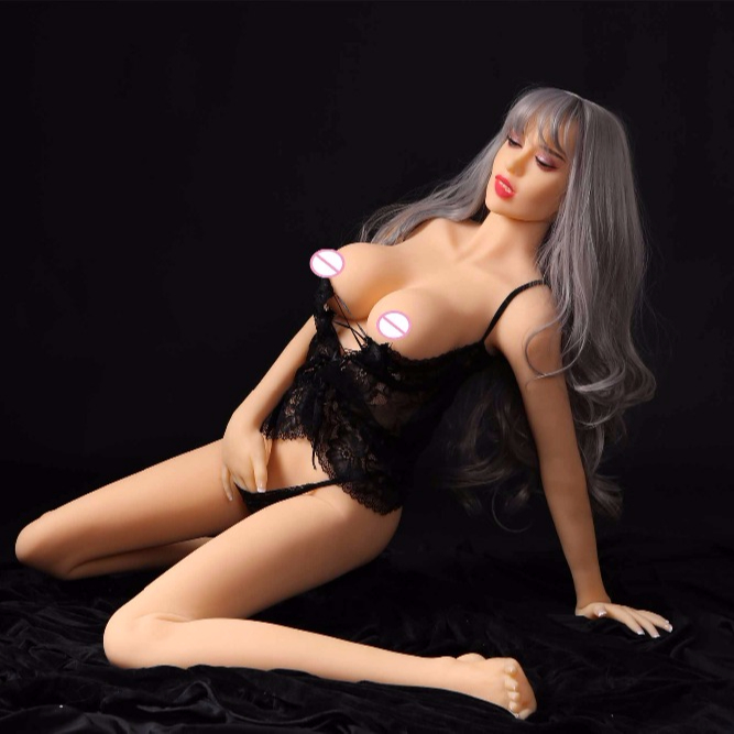 165CM Live Real Young Silicone Sex Doll Review Anal Pussy Beauty Girl For Man Having Sex With Doll