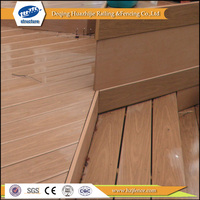 PVC outdoor composite decking