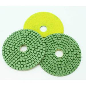 5 Inch Wet Diamond Polishing Pads for Sanding Disc Concrete Granite Glass Marble