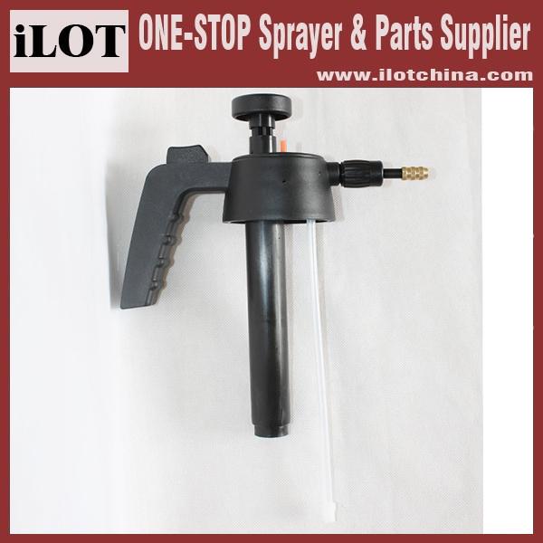 Handheld Sprayer Parts : Ilot manual plastic trigger pressure sprayer hand press