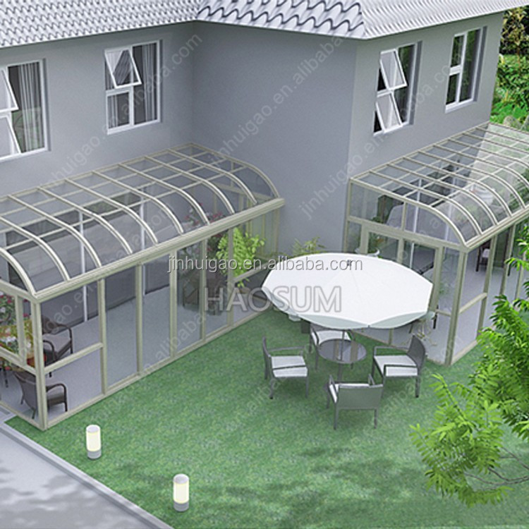 Energy-saving tempered/ Insulated/laminated Glass panel for Sunroom,glass house / garden room