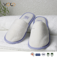 fancy disposable hotel guest slippers home shoes for girls