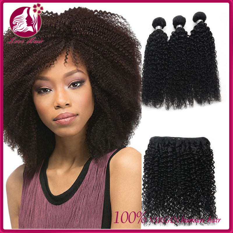 Malaysian Virgin Hair Kinky Curly Weave Hair Styles 100 Unprocessed
