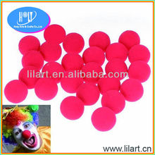 Red Foam Clown Nose Circus Party Halloween Costume Accessory