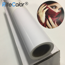 260gsm Waterproof 24inch Resin Coat Inkjet Printing Silk Photo Paper Roll
