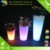 RGB color changes LED glowing flwor pot, LED outdoor decorative flower pot