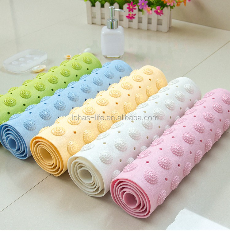 Silicone Drying Shower Room Mat
