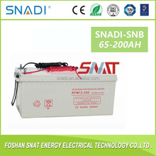 12v 150ah 200ah solar deep cycle gel battery for solar inverter