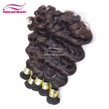 2013 fashion and charming hot selling healthy peruvian wholesale virgin wavy hair