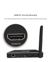 Newest Clodnetgo HD input and HD output 4k AC Wifi Gigabit Ethernet Realtek RTD1295 Record HDD Media Player with SATA