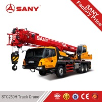 SANY STC250H 25 Tons Energy Saving Mobile Truck Crane of Small Hydraulic Crane
