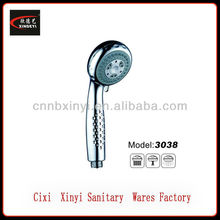 multi function abs plastic flexible shower head extension