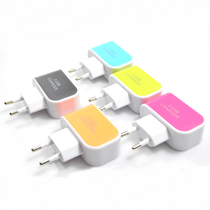 2017 new style Fast Charge 3 ports usb wall charger Home Charger for iphone 6 6s 7 plus