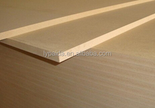 700~900kgs/m3 MDF board with white high gloss used for photo frames or pictures printed