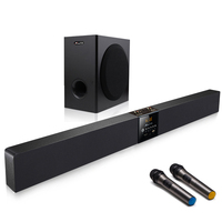 JYaudo karaoke soundbar with subwoofer for home karaoke system TVS-A9K+S5