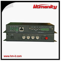 Humanity Video, Ethernet, Data to Fiber Converter - 4 Channel Video Transmitter