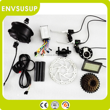 Adult cute 350w low speed ebike conversion kit with battery