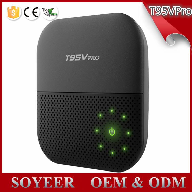 Download User Manual For Android Mx Tv Box 2017 Soyeer T95V Pro With Kodi 16.1 4K Satellite Receive