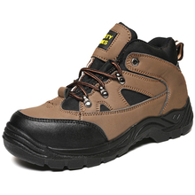Trendy Dubai Good Prices Mid Cut Woodland Safety Shoes in Stock