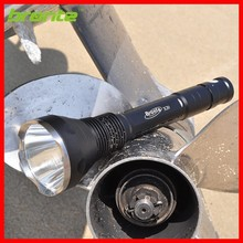 multiple cell high power LED flashlight 2 way operation long throw survival flashlight gear