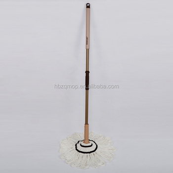 simple design cheap price cotton water squeeze mop
