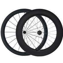 30/38/47/50/60/88mm full carbon wheels clincher for bicycle racing