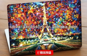 Manufactory for Laptop color skin ,PVC leather surface