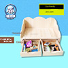 High quality crazy selling dog house bed deluxe wood dog house with drawer