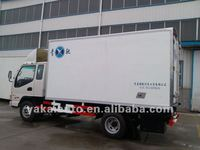 promotion:JMC Freezer food transport GRP Refrigerated box Truck