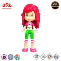 Strawberry Shortcake Molded Hair Mini Doll