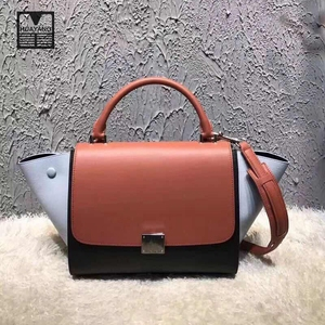 Wholesale price ladies messenger bag genuine leather vanity bag
