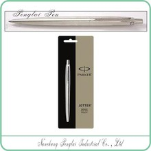 click Stainless Steel Medium Point parker jotter ballpoint pen