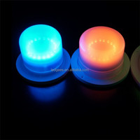 IP 68 Water proof resistant battery operated led lighting size:10.2CM for party and event