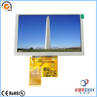 China good quality 5 inch Tft lcd touch screen for raspberry pi