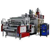 LYM-1500X3C Three layers PE casting stretch film machine