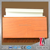aluminum profile for sliding window rail window sections