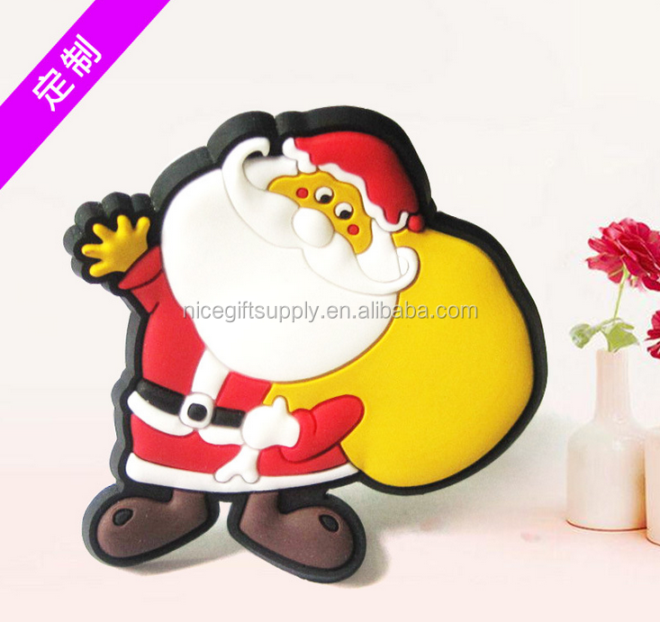 Wholesale custom 3D soft pvc rubber refrigerator fridge magnet