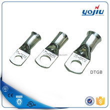 DTGB series electric wire and cable tin plated terminal lug/cable terminal size