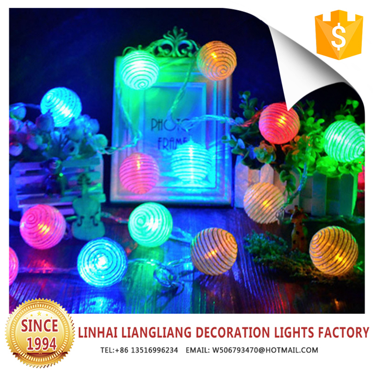 waterproof multicolor home decor led light