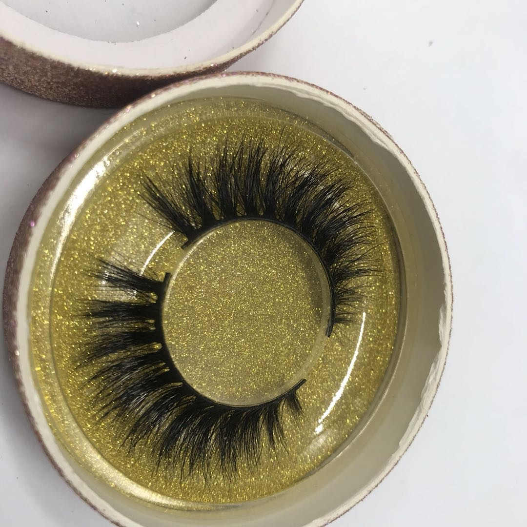 best selling mink eyelashes vendor 100% 3D Mink Eyelashes mink lashes with Custom Eyelash Packaging