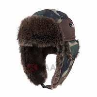2015 new trendy russian camouflage trapper trooper hat