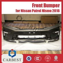 High Quality New 2016 Nismo Front Bumper For Nissan Patrol Y61 Y62 2010-2016