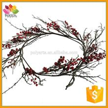 Likelike Artificial berry garland berry branch for Christmas decoration