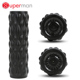 Four Speed Vibrating Foam Roller with LED Display Screen, Massage Yoga Roller Ideal for Muscle